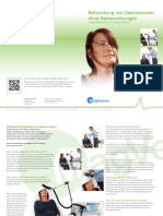 Depression Brochure Patient German