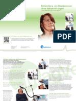 Depression Brochure Patient German