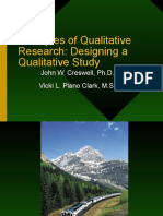 Qualitative Research Creswell