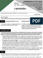 HCV - Recibiendo la provisión - 10Ene2016