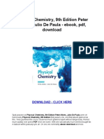 Physical Chemistry Levine Ebook