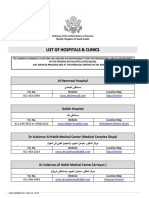List of Hospitals _July 18 2014