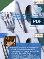 Guia Presentacion Restaurante Tematico