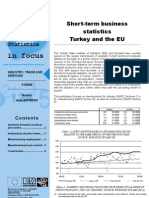 Short-term business statistics Turkey and the EU
