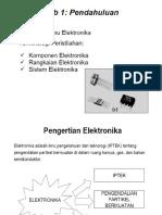 LISTRIK ELEKTRONIKA