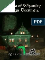 Hp Larp Design Document