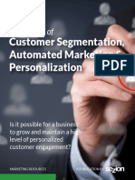 The Power of Customer Segmentation, Automated Marketing and Personalization eBook
