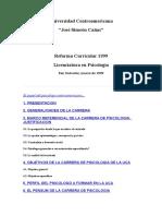 Universidad Centroamericana Psico Uca