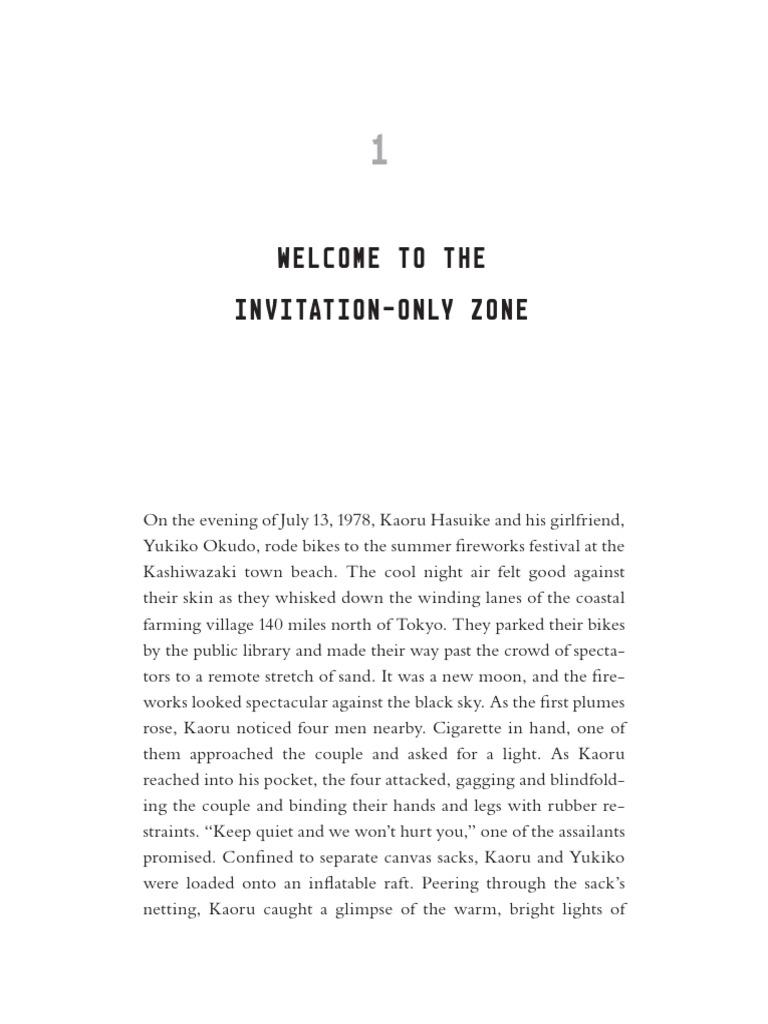 The invitation only zone the true story of north koreas the invitation only zone the true story of north koreas abduction project international politics south korea stopboris Choice Image