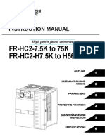 Inverter FR-HC2 Instruction Manual