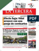 Diario La Tercera 13.01.2016