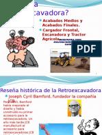 Diapositivas de Retroexcavadora