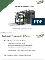 Waste Heat Generator