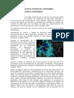 Unidad 1 Introducción Al Estudio de La Bioquímica