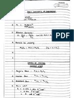 Chemistry Formulas XI