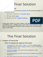 final solution 2015