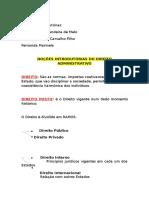 Administrativo - Fernanda Marinella