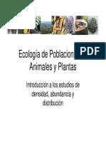 Introducción a La Ecología de Poblaciones Animales [Modo de Compatibilidad]