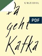 Urzidil, Johannes - Da Geht Kafka - Beta
