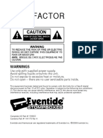 Eventide Pitch Factor User Guide
