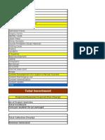 Competitive Examination. Project Financial Estimation Supratim Basu