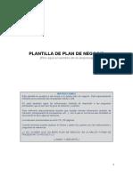 Modelo de Plan de Negocio-ALUMNOS