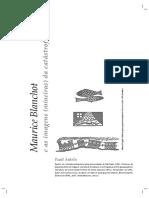 ANTELO, Raul. Maurice Blanchot e as imagens (mineiras) da catástofre.pdf