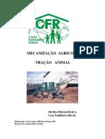 Ficha Pedagógica - Mecanizaçâo Agricola - Tração Animal - Pr
