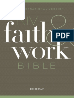 NIV Faith & Work Bible