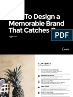 How to Design a Memorable Brand That Catches On