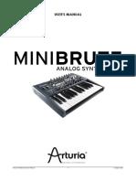 Minibrute Manual En