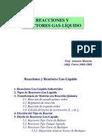 Reacciones Gas Liquido