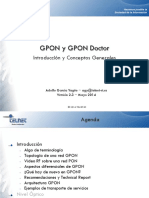 Introduccion a tecnologia Gpon