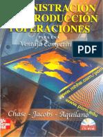 ADMIN PRODUC Y OPERAC Para Una Ventaja Competitiva 10 Ed.