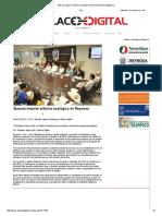 01-12-2016 Buscan Mejorar Entorno Ecológico en Reynosa