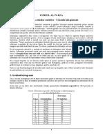 Biostatistica MG - Cursul IV