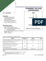 datasheet P6KE13A