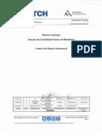Criterio de Diseño Estructural DMC CSE942 HAT F 0340 S GD 001_P