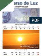 Calendário 2007 com reflexões