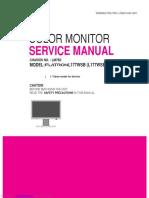 service manual lg L177ws
