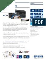 Epson Stylus Photo PX820FWD Brochures 2