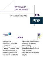 Pressure Testing Presentation