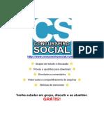 Concurseiro Social - Lei Dos Partidos Políticos Comentada