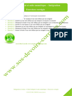 Integration Calcul Integral Suite Numerique