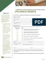 2016 Residential Rebate