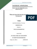 Manual de Prácticas de Concreto Hidráulico