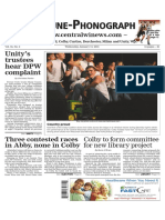 January 14, 2016 Tribune-Phonograph
