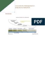 06 - Processus de Recherche, Développement Et Production Du Médicament