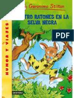 Cuatro Ratones en La Selva Negra - Stilton Geronimo