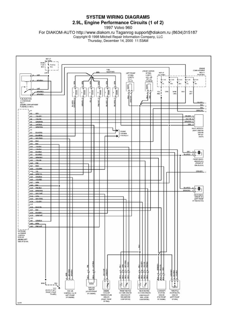 1998 V90 Wiring Diagrams